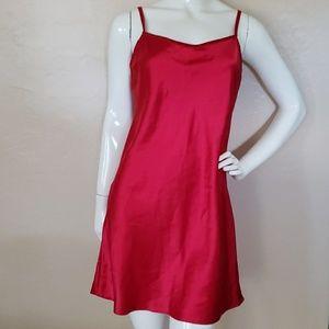 DKNY red satin underwear/ sleepwear